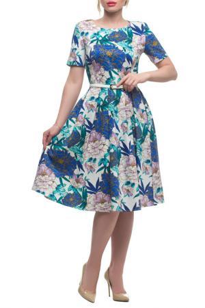 Платье Петербургский Швейный Дом. Цвет: мультиколор