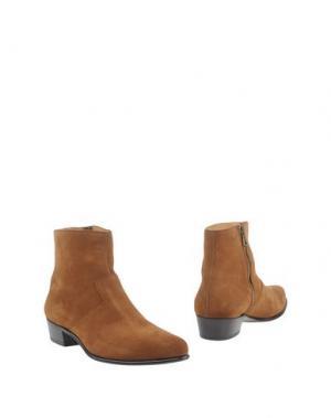 Полусапоги и высокие ботинки SEBOY'S. Цвет: коричневый
