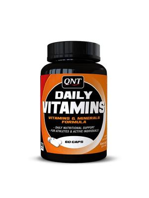 Витаминно-минеральный комплекс QNT Daily Vitamins (60 капс). Цвет: черный, оранжевый