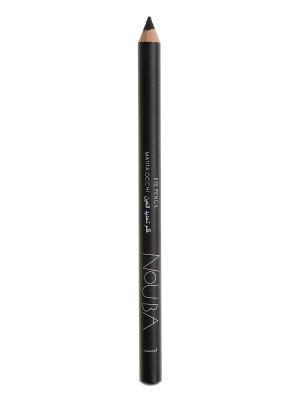 Карандаш для векEye pencil 01, 1,18г NOUBA. Цвет: черный