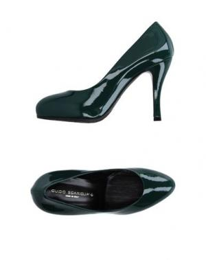 Туфли GUIDO SGARIGLIA. Цвет: темно-зеленый