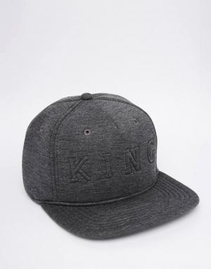 King Apparel Бейсболка Staple Boss. Цвет: серый