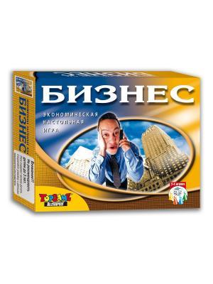 Бизнес экономическая настольная игра TopGame. Цвет: синий, белый, желтый