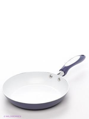 Сковорода Winner. Цвет: сиреневый, белый