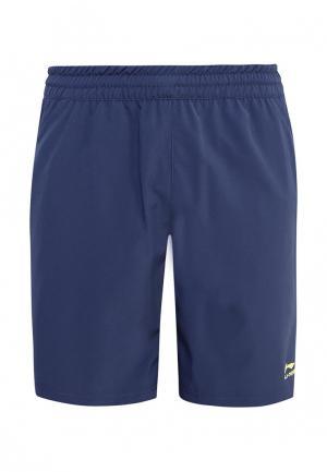 Шорты спортивные Li-Ning. Цвет: синий