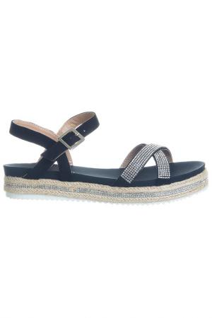 Sandals Laura Biagiotti. Цвет: black, beige