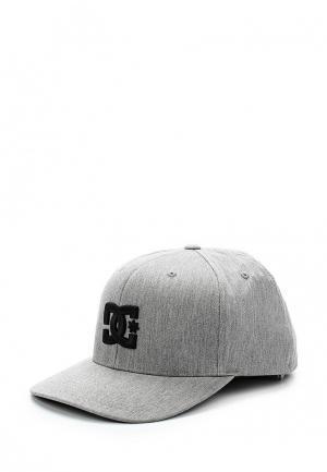 Бейсболка DC Shoes. Цвет: серый
