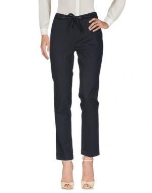 Повседневные брюки SWILDENS. Цвет: черный