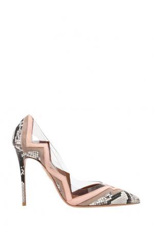 Кожаные туфли Frankie Pump Aquazzura. Цвет: none