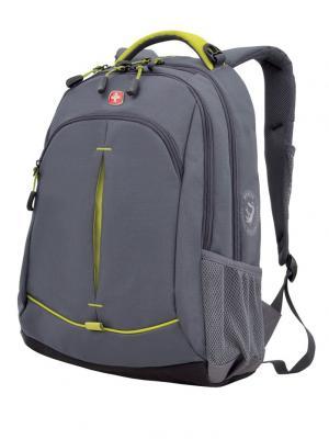 Рюкзак WENGER. Цвет: светло-зеленый, серый