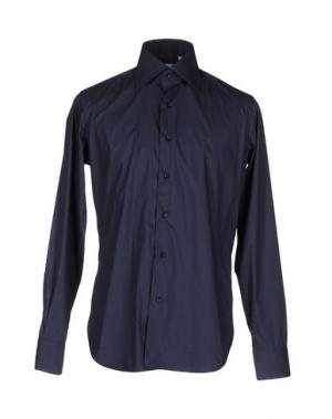 Pубашка LEXINGTON. Цвет: темно-синий