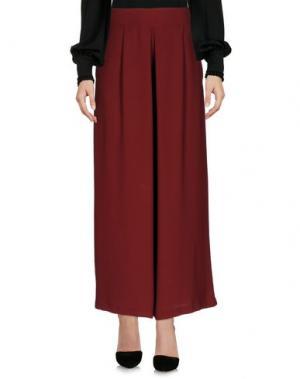 Повседневные брюки ECO. Цвет: красно-коричневый