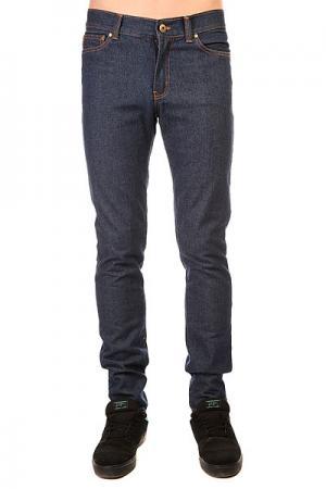 Джинсы прямые  Jeans Deep Blue Anteater. Цвет: синий