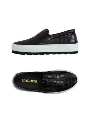Низкие кеды и кроссовки UNLACE. Цвет: черный