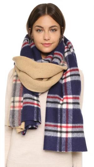 Трикотажный шарф Neo в крупную клетку Standard Form