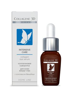 Сыворотка для глаз INTENSIVE CARE 10 мл Medical Collagene 3D. Цвет: белый, коричневый, серебристый, синий