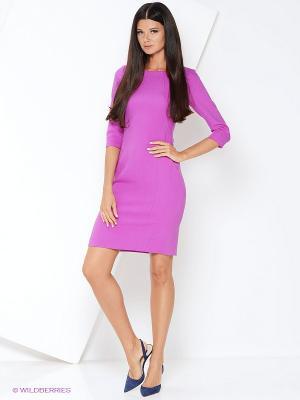 Платье KEY FASHION. Цвет: сиреневый