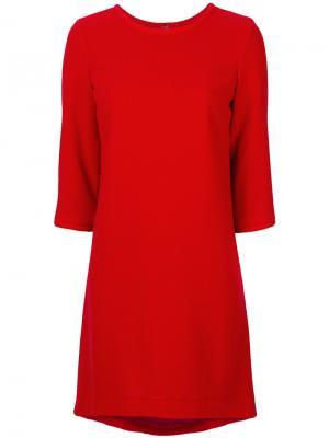 Платье Lola Goat. Цвет: красный