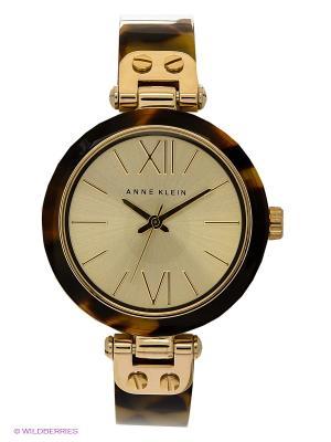 Часы ANNE KLEIN. Цвет: бежевый, золотистый