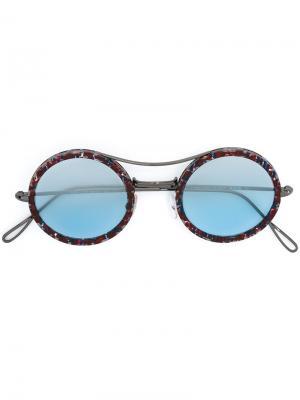 Солнцезащитные очки Matti Flip On Kyme. Цвет: красный