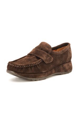 Туфли STEPHANE KELIAN. Цвет: коричневый