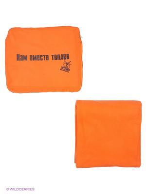 Автомобильный плед-подушка оранжевый Нам вместе теплее Экспедиция. Цвет: оранжевый