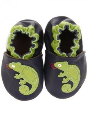 Ботинки MaLeK BaBy. Цвет: темно-синий, зеленый
