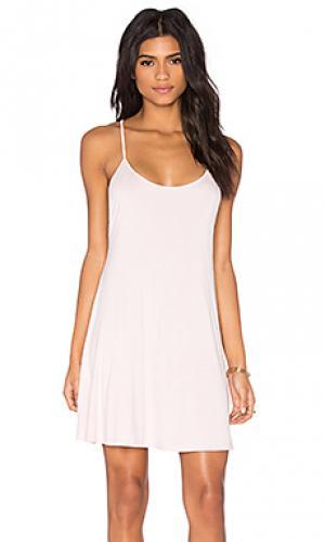 Платье BLQ BASIQ. Цвет: розовый