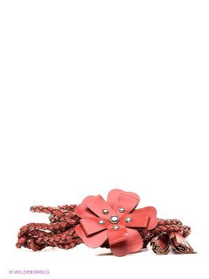 Пояс RUXARA. Цвет: коралловый