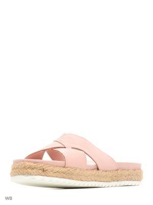 Пантолеты Tucino. Цвет: бледно-розовый