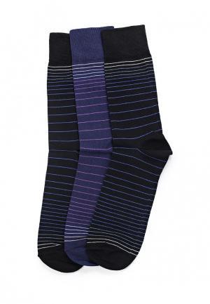 Комплект носков 3 пары Uomo Fiero. Цвет: разноцветный