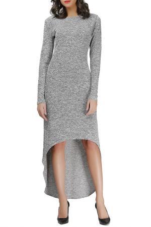 Платье Adelin Fostayn. Цвет: серый