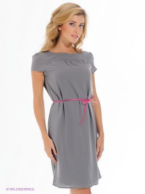 Платье ESPRIT. Цвет: серый