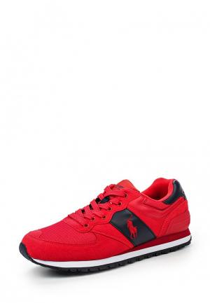 Кроссовки Polo Ralph Lauren. Цвет: красный