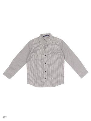 Рубашка Stilnyashka. Цвет: серый