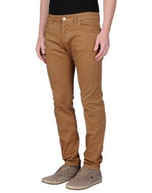 Повседневные брюки ENTRE AMIS. Цвет: верблюжий