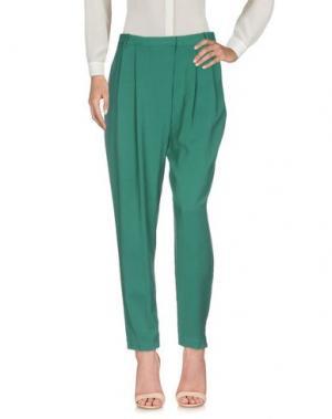 Повседневные брюки BY MALENE BIRGER. Цвет: зеленый