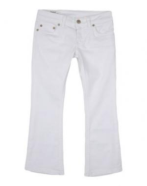 Джинсовые брюки DONDUP DQUEEN. Цвет: белый