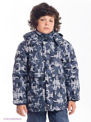 Куртка Hippo Hoppo. Цвет: светло-серый