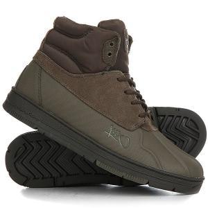 Ботинки высокие  Shellduck Tarmac K1X. Цвет: зеленый