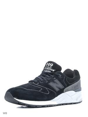 Кроссовки New Balance MRL999BA D Black Grey Men. Цвет: черный