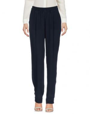 Повседневные брюки SCAGLIONE. Цвет: темно-синий