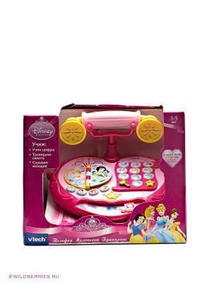Обучающий телефон маленькой принцессы Vtech. Цвет: розовый, желтый