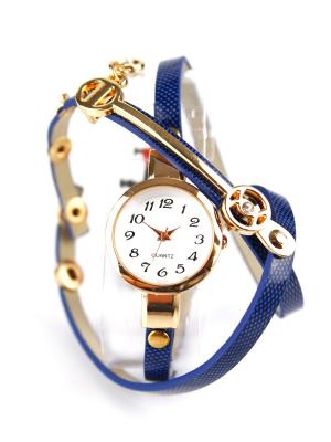 Часы наручные 1Azaliya. Цвет: синий