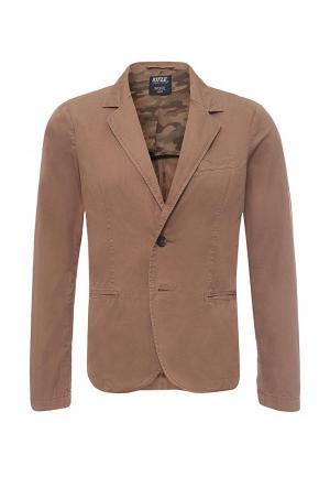 Пиджак Rifle. Цвет: коричневый