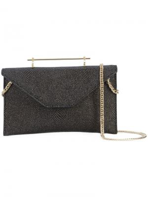 Embellished clutch M2malletier. Цвет: чёрный