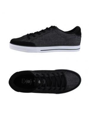 Низкие кеды и кроссовки C1RCA. Цвет: черный