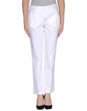 Повседневные брюки NVL__NUVOLA. Цвет: белый
