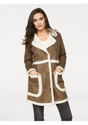 Пальто PATRIZIA DINI. Цвет: черный