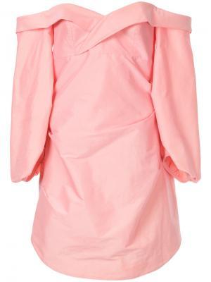 Платье по фигуре Modern Candy Manning Cartell. Цвет: розовый и фиолетовый